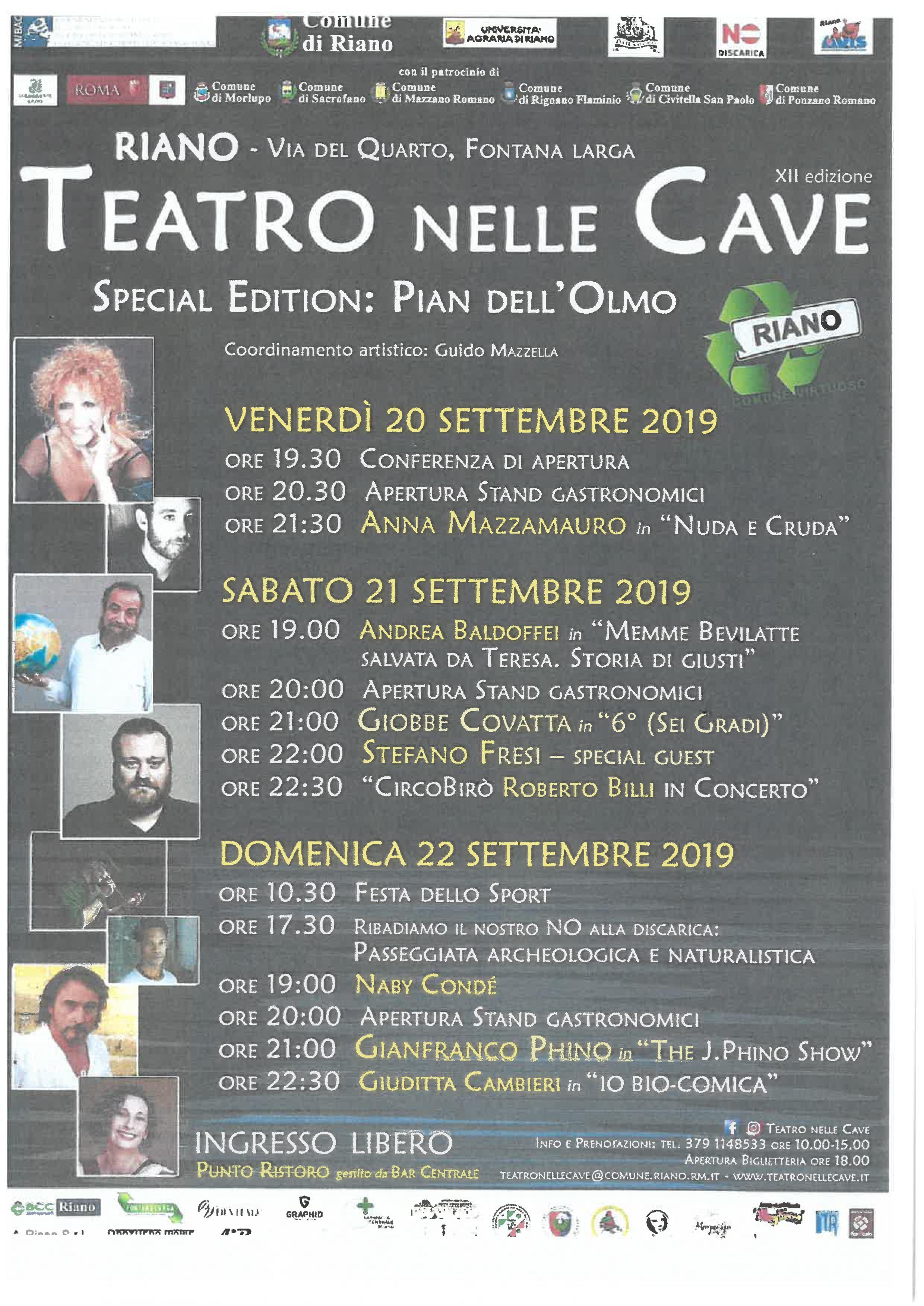 Teatro nelle Cave - Special Edition Pian dell'Olmo