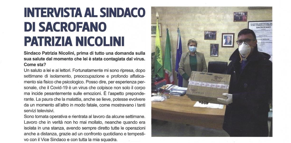 Intervista al Sindaco di Sacrofano Patrizia Nicolini